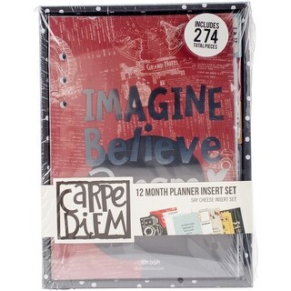 Carpe Diem Say Cheese Iii Planner Inserts A5-