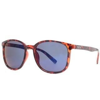 Kenneth Cole Reaction KC1275 52X Women's Dark Havana Blue Mirror Sunglasses - Dark Havana - 54mm-19mm-140mm