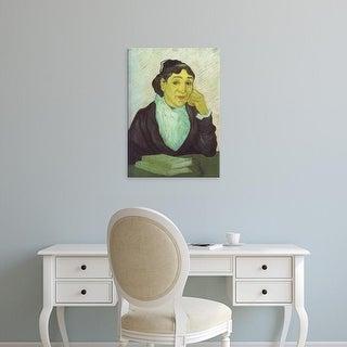 Easy Art Prints Vincent Van Gogh's 'Madame Ginoux' Premium Canvas Art