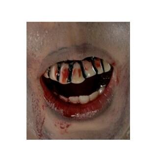 Rubies The Walking Dead Bloody Teeth - White/Red