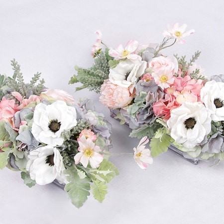 Shop g home collection luxury pink rose hydrangea peony cosmos and g home collection luxury pink rose hydrangea peony cosmos and white anemone flower arrangement mightylinksfo