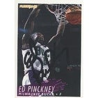 Ed Pinckney Milwaukee Bucks 1994 Fleer Autographed Card This item comes with a certificate of authenticity from Autog