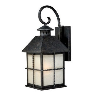 Vaxcel Lighting T0027 Savannah 1 Light Outdoor Wall Sconce - 8.25 Inches Wide