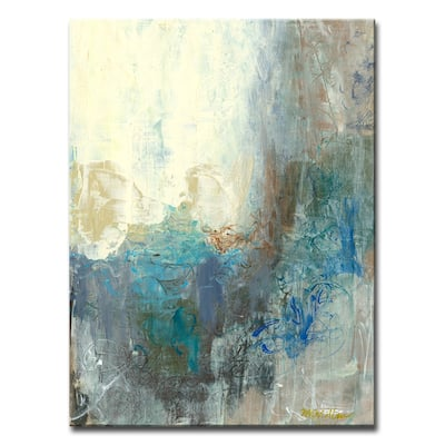 'Looking Outside' Wrapped Canvas Wall Art by Dana McMillan