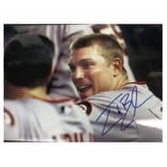 Signed Bowker John San Francisco Giants 12x18 Photo autographed