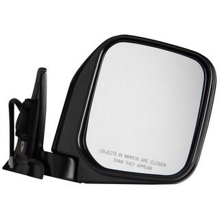Pilot Automotive TYC 6560031 Black Passenger/ Driver Side Power Non-Heated Replacement Mirror for Mitsubishi Montero Sport
