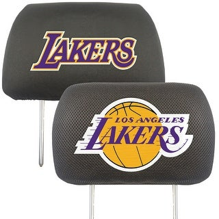 """NBA - Los Angeles Lakers Head Rest Cover 10""""x13"""""""