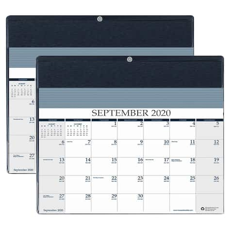 "Monthly Academic Reminder Wall Calendar, 16 Months September-December, 11-1/2"" x 9-3/4"", Pack of 2 - One Size"