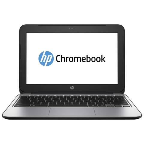"HP Chromebook 11 G3 Intel Celeron N2840 X2 2.58GHz 2GB 16GB 11.6"" SKIN, Gray (Refurbished)"