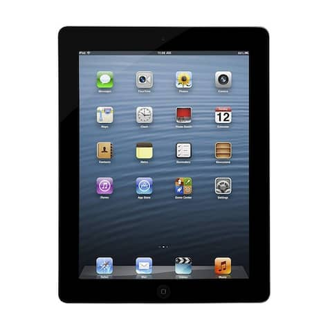 Apple iPad 3 Tablet 16GB, Wi-Fi & Cellular, Black (Refurbished)