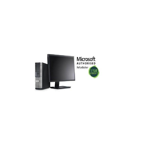 "Dell OPT390 SFF, intel i3 3.0GHz, 8GB, 500GB, W10 Pro, 19"" LCD"