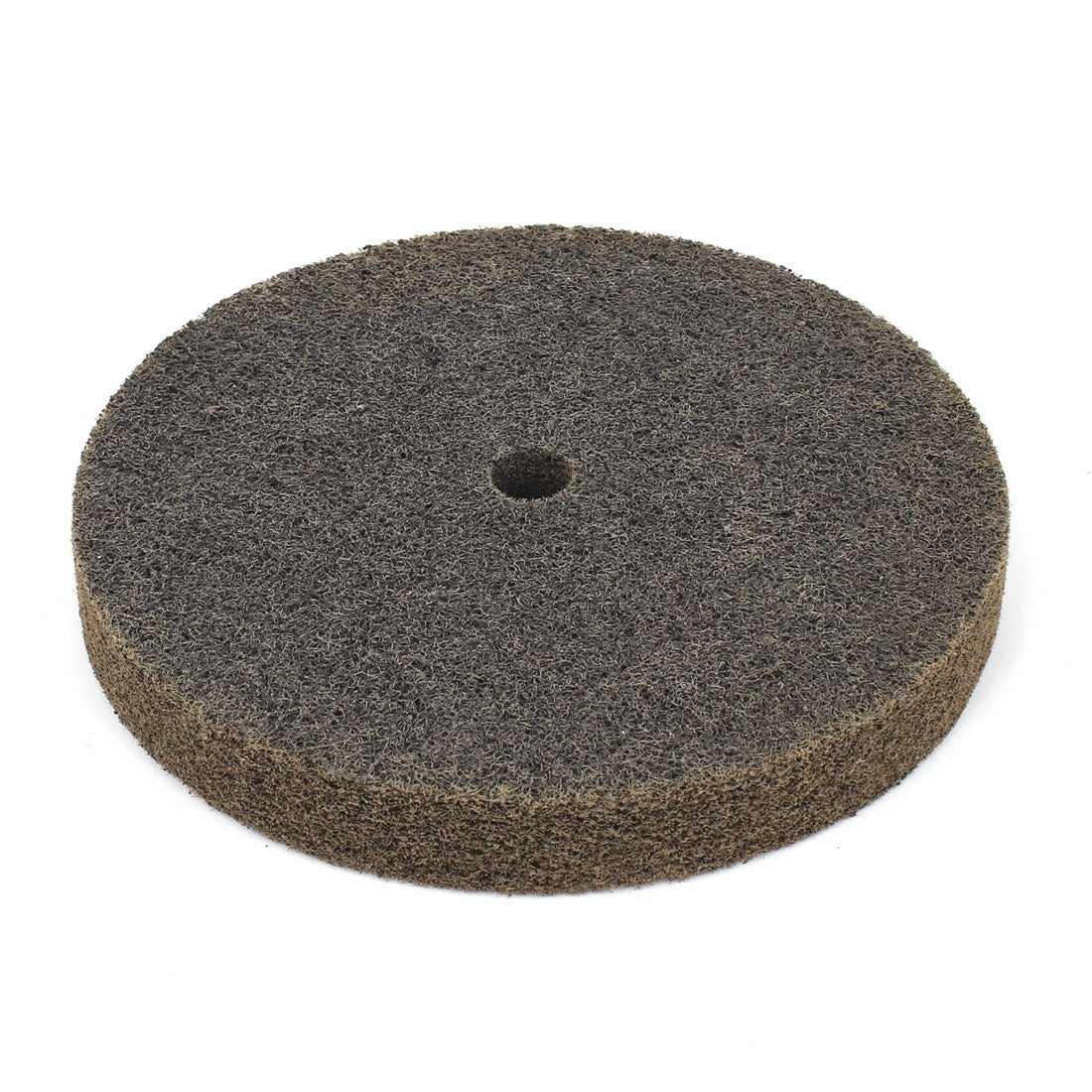 Unique Bargains Olive Green Nylon Fiber 60 Grit 8 x 1 Cylindrical Abrasives Grinding Wheel