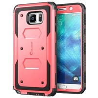 i-Blason Galaxy Note 5 Armorbox Case with Screen - Pink