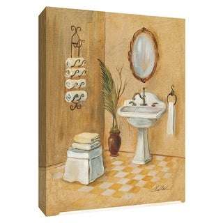 "PTM Images 9-154358  PTM Canvas Collection 10"" x 8"" - ""Light Bath II"" Giclee Bathroom Art Print on Canvas"