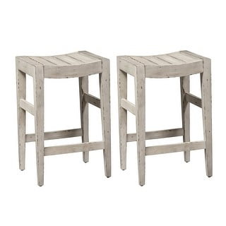 Link to Color Nook Whitestone Counter Height Barstools (Set of 2) Similar Items in Dining Room & Bar Furniture