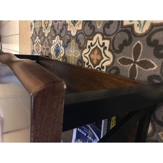 Shop Banyan Live Edge Wood And Metal Accent Tables By Inspire Q Artisan Free