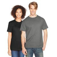 Hanes Beefy-T Adult Short-Sleeve T-Shirt - Size - M - Color - Smoke Gray
