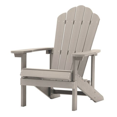 Classic Outdoor High-quality polystyrene Adirondack Chair