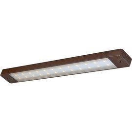"Vaxcel Lighting X0003 24"" Length LED Motion Instalux Under Cabinet Light Bar - Energy Star Rated - Bronze"