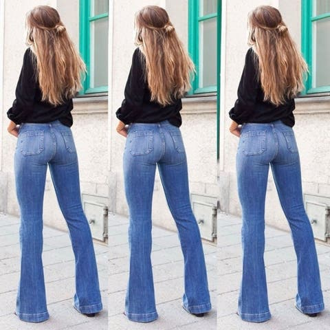 Perfect Flared Jeggings Jeans