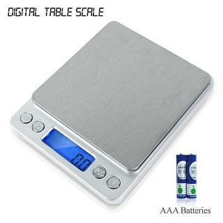 PartySaving Smart Digital Multifunction Stainless Steel Kitchen and Food Scale, 0.1 - 2000g