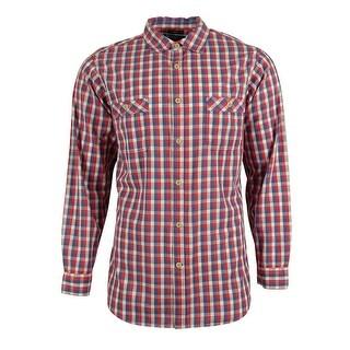 Cremieux Collection Men's Slim Fit Plaid Shirt