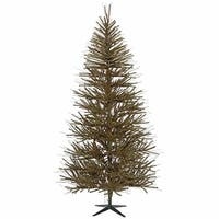 6' Vienna Twig Artificial Christmas Tree - Unlit - Brown