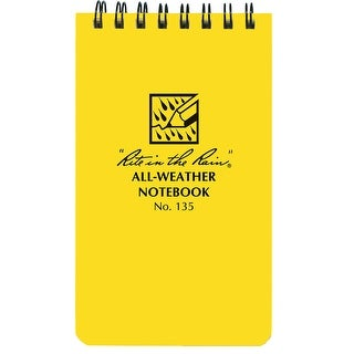 Rite in the Rain All-Weather Top-Spiral 3x5 Notebook - 50 Sheets