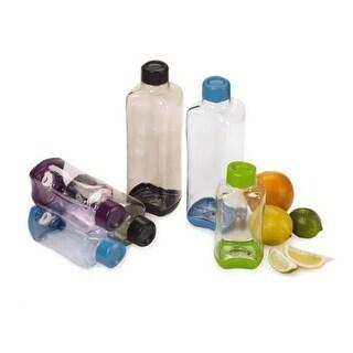 Design for Living 6 Piece Set Stackable 32 oz & 16 oz Water Bottle Set