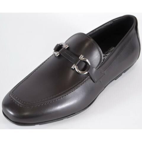 Salvatore Ferragamo NOWELL 2 Gancini Drivers Loafers Shoes