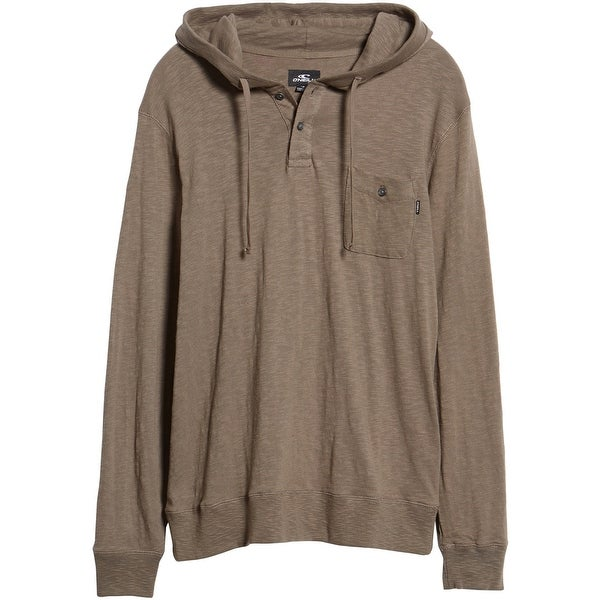 O'Neill Mens Stinson Hooded Hoodie Sweatshirt, Green, Small. Opens flyout.