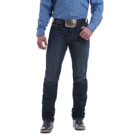 Cinch Western Denim Jeans Mens Jesse Slim Fit Dark Wash