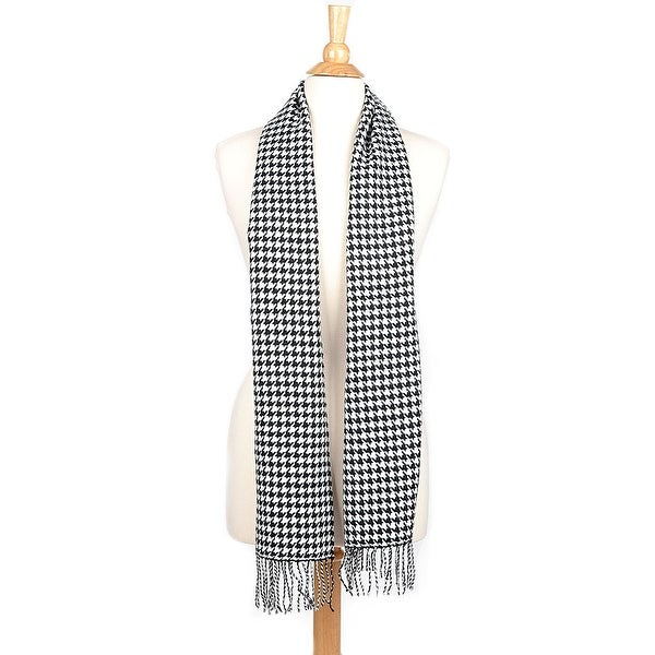 Cashmere Feel Winter Scarf with Fringe. Opens flyout.