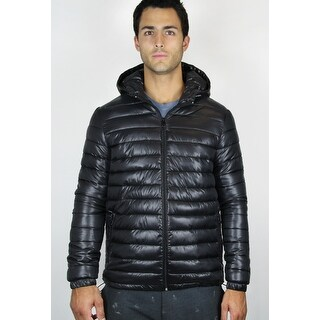 Men's Hooded Puffer Jacket (JKH-110)