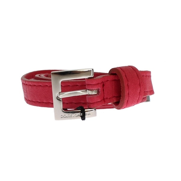 Dolce & Gabbana Dolce & Gabbana Pink leather belt