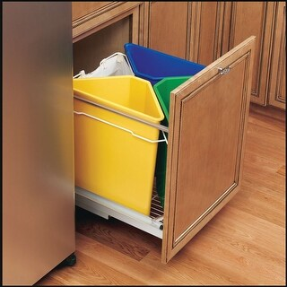 Rev-A-Shelf 9700-60-52 5349 Series Replacement Trash Can - 25 Quart Capacity (Option: Blue)