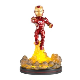 Iron Man Light-Up Q-Fig FX Diorama
