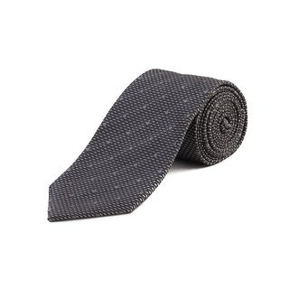 Tom Ford Men's Silk Woven Dot Tie Grey - no size