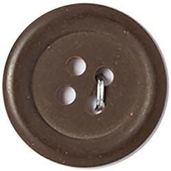 "Brown 4-Hole 3/4"" 3/Pkg - Slimline Buttons Series 1"