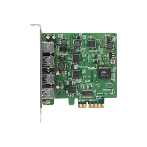 Highpoint Controller Card Ru1144d 4Port Usb3.0 Rocketu 1144D Pci-Express