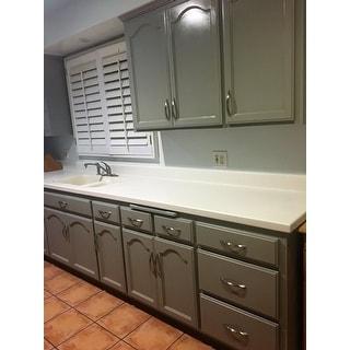 most helpful satin nickel cabinet pulls