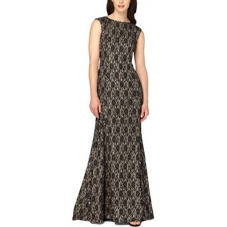 Tahari ASL Womens Formal Dress Lace Mermaid - 4