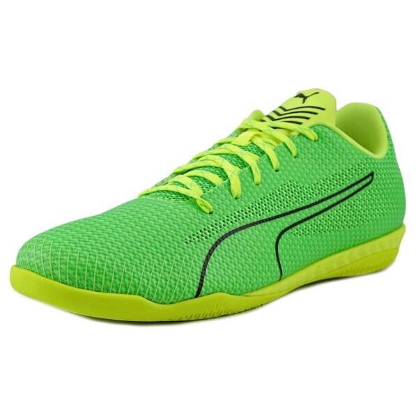 Puma 365 Ignite CT Men Round Toe Synthetic Green Running Shoe