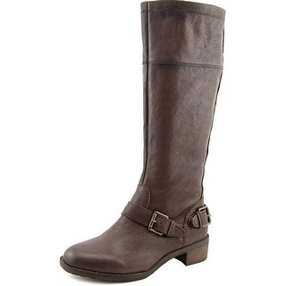 Naturalizer Macnair Round Toe Leather Knee High Boot