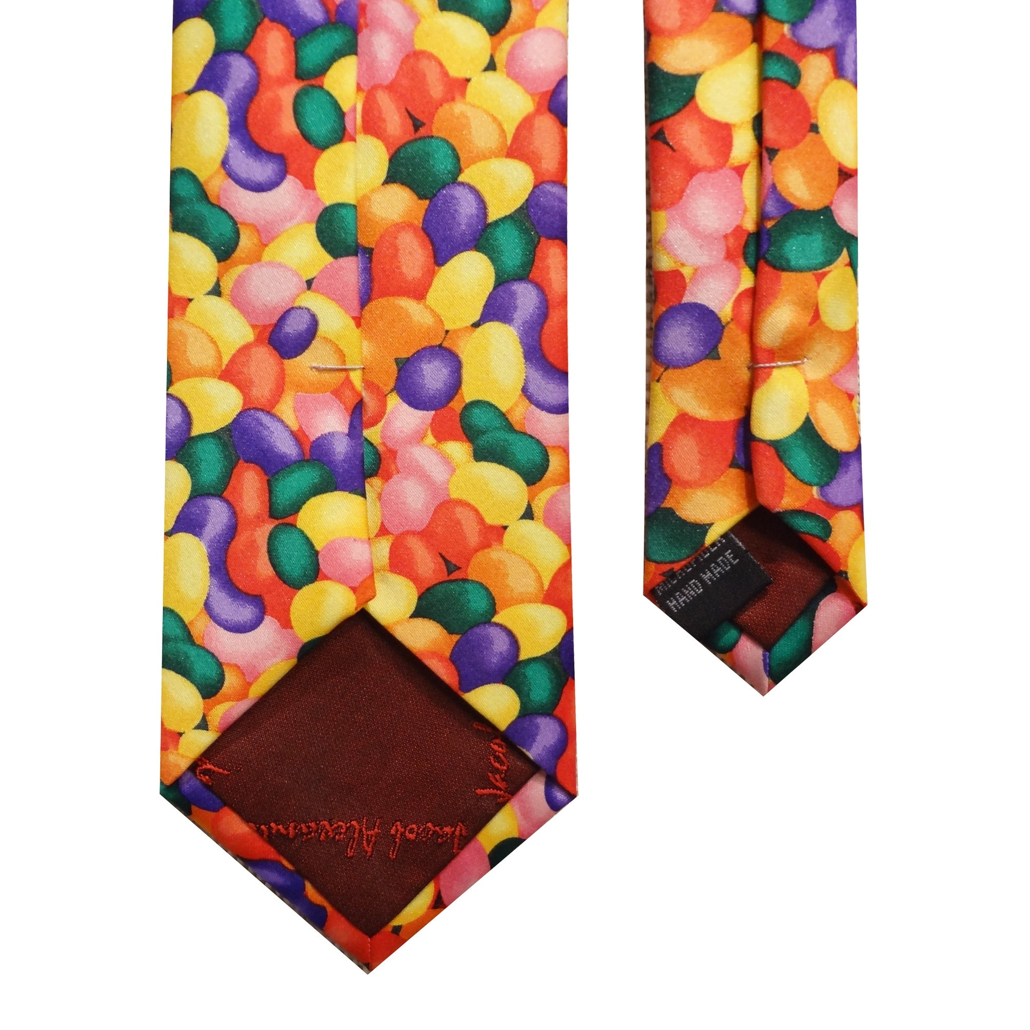 995030bfd5a0 Shop Boy's Kids Colorful Easter Multicolor Rainbow Candy Jelly Bean Spring  Neck Tie - Free Shipping On Orders Over $45 - Overstock - 20925984
