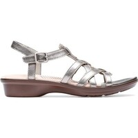 40cb708bca0 Shop Women s Clarks Parram Spice Gladiator Sandal Gold Suede - Free ...