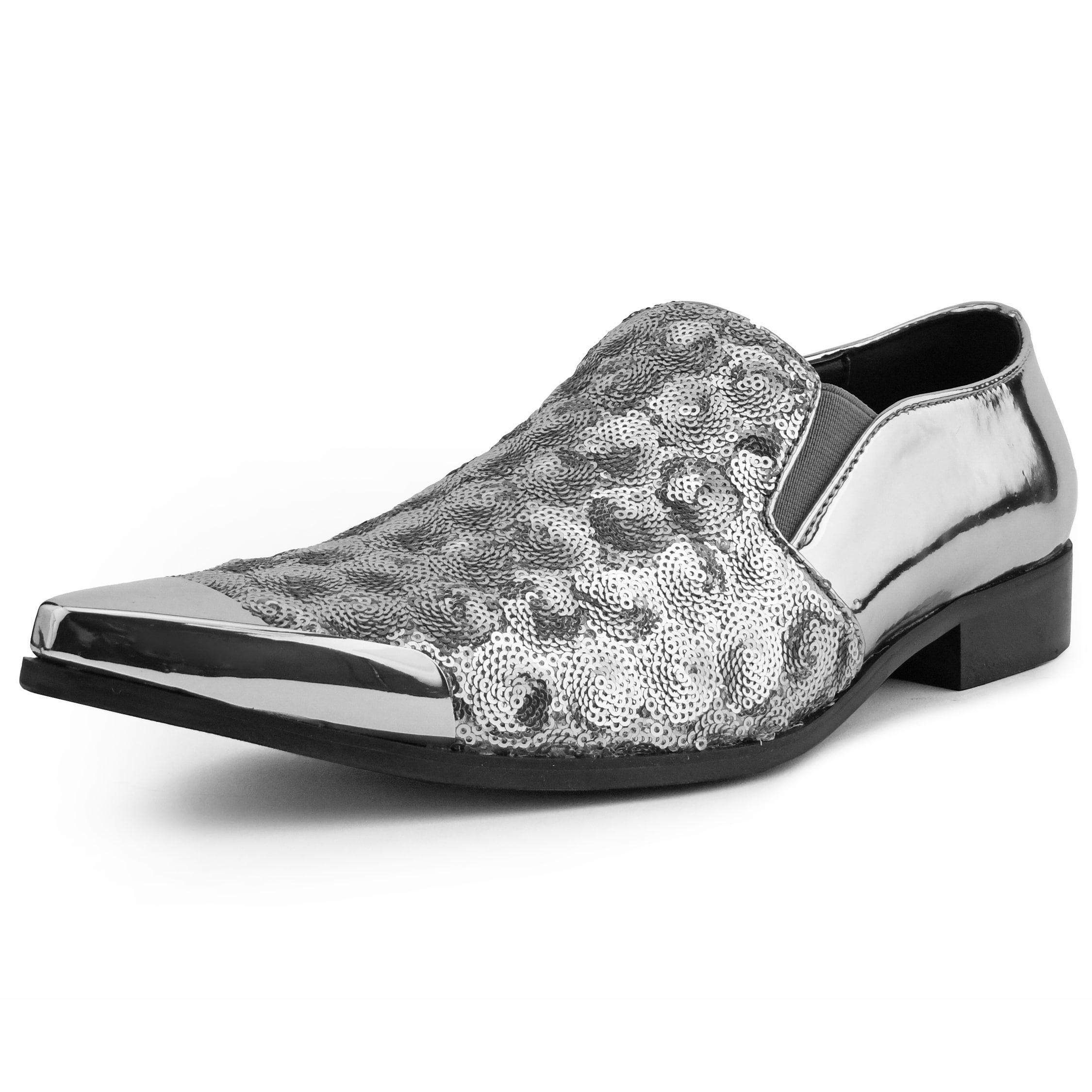 mens designer slip on shoes