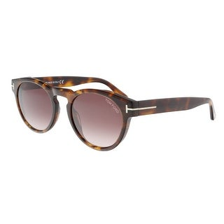 Link to Tom Ford FT0615 55T Margaux 02 Havana Round Sunglasses - 50-20-145 Similar Items in Men's Sunglasses