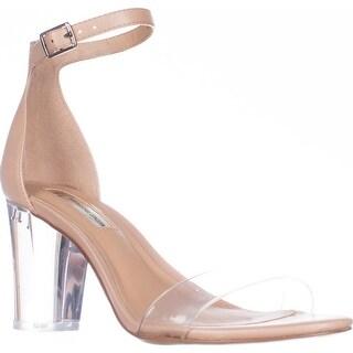I35 Kivah Ankle Strap Dress Sandals, Powder Nude