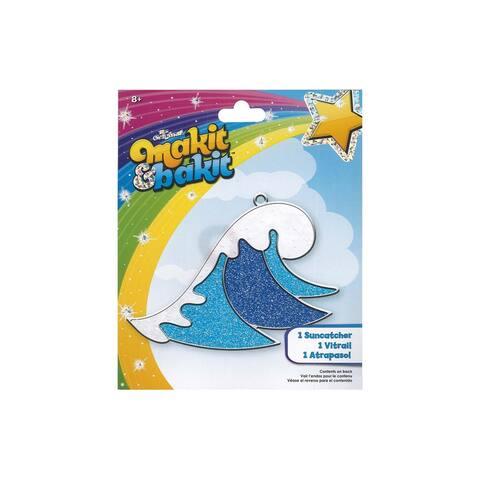 Colorbok Makit & Bakit Suncatcher Kit Wave - White - Medium